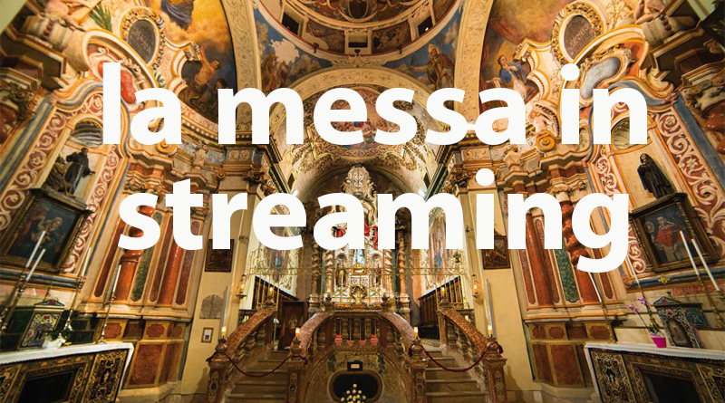 La messa di San Giovanni in streaming